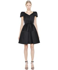 Dice Kayek | Bonded Viscose Crepe Pleated Dress