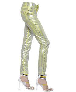 Just Cavalli | Waxed Metallic Denim Jeans