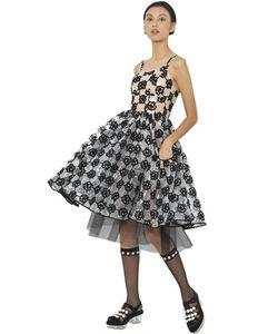Simone Rocha | Embroidered Bonded Plastic Dress