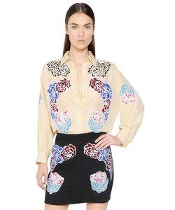 Stella McCartney | Embroidered Parachute Silk Shirt