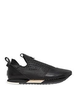 Artselab   Perforated Leather Slip-On Sneakers