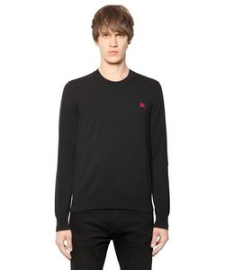 Burberry Brit | Logo Embroidered Cotton Sweater