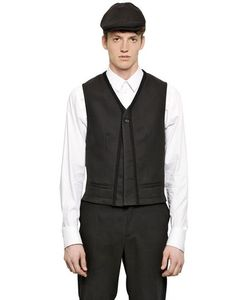 Dolce & Gabbana | Canvas Vest With Trim Detail