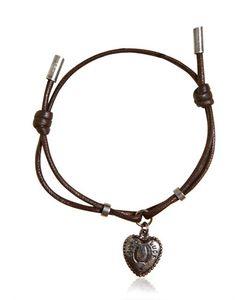 Dolce & Gabbana | Waxed Strap Metal Chain Bracelet