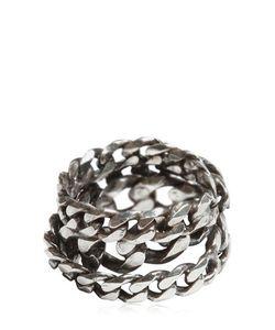 Emanuele Bicocchi | Silver Chain Ring