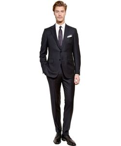 Ermenegildo Zegna | Pin Striped Wool Suit