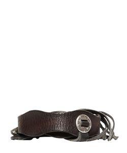 Htc Hollywood Trading Company | Fringed Western Leather Belt