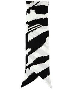 Roberto Cavalli | Punda Printed Silk Neck Scarf