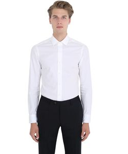 Salvatore Piccolo | Slim Fit Cotton Poplin Shirt