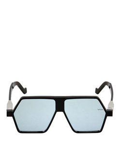 Vava | Mirrored Geometric Mask Sunglasses