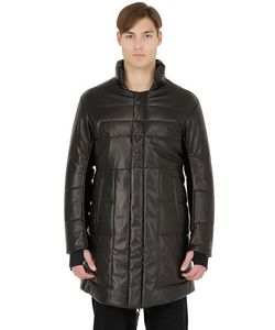 11 By Boris Bidjan Saberi | Padded Nappa Leather Coat