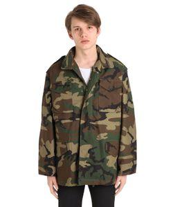 Alpha Industries | Oversized Cotton Field Jacket