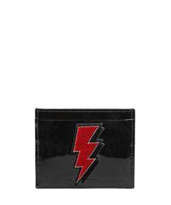 Les Petits Joueurs | Bolt Patent Leather Card Holder