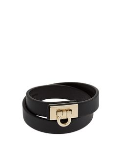 Salvatore Ferragamo | Gancio Leather Bracelet