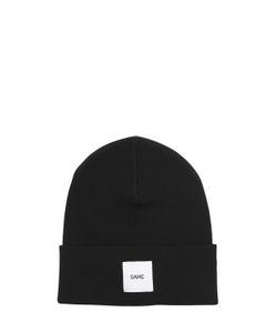 Oamc | Logo Patch Wool Beanie Hat