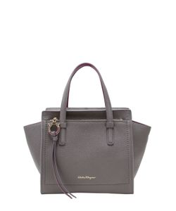 Salvatore Ferragamo | Small Amy Bicolor Leather Tote Bag