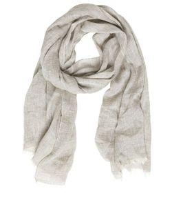 Destin Surl | Linen Silk Cashmere Woven Scarf