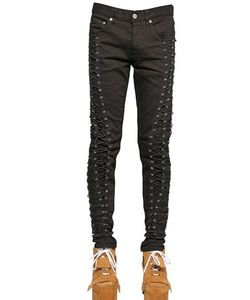 Hood By Air | 16.5cm Parachute Lace-Up Raw Denim Jeans