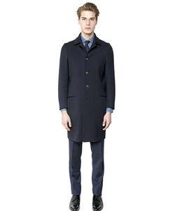 Salvatore Piccolo   Stretch Wool Twill Coat