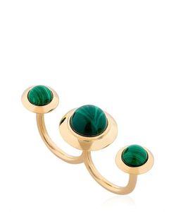 Eshvi | Lava Double Finger Ring