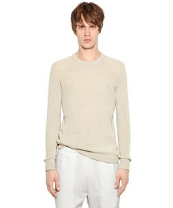 08Sircus | Cotton Cashmere Open Weave Sweater