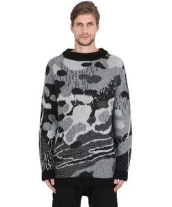 11 By Boris Bidjan Saberi | Wool Alpaca Blend Jacquard Sweater