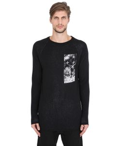11 By Boris Bidjan Saberi | Intarsia Wool Knit Sweater