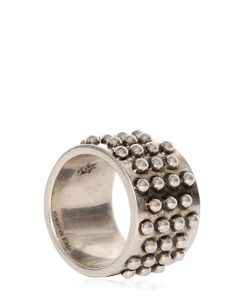 Alexander McQueen | Studded Metal Ring