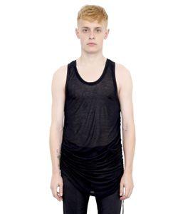 Alexandre Plokhov | Drawstring Sides Double Jersey Tank Top