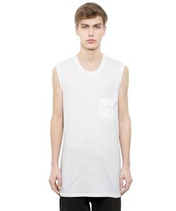 Alexandre Plokhov | Sleeveless Cotton Modal Jersey T-Shirt