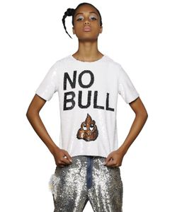 Ashish | No Bull Sequined Cotton Top