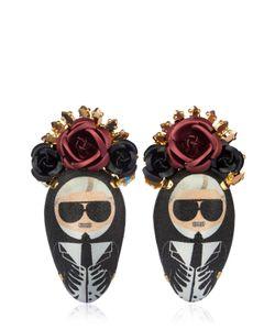 BIJOUX DE FAMILLE | Karl Rosary Earrings