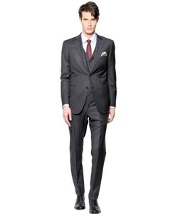 Brioni | Brunico Super 150s Wool Microcheck Suit