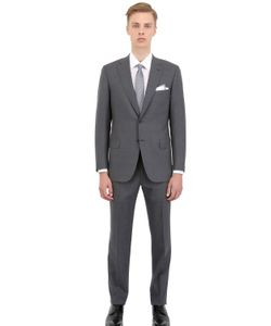 Brioni | Tropical Stretch Wool Slim Fit Suit