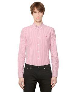 Burberry Brit | Striped Stretch Cotton Poplin Shirt