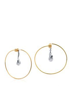 CATERINA ZANGRANDO | Zira Hoop Earrings With Drop