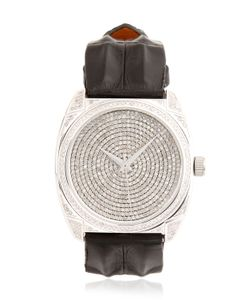 Christian Koban | Dom White Diamond Steel Watch