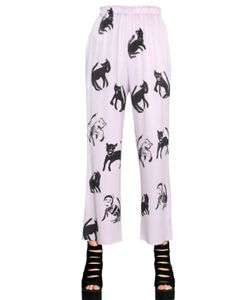 Claire Barrow | Printed Silk Pants