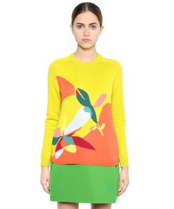 Delpozo | Floral Wool Blend Sweater