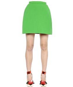 Delpozo   Double Sided Neoprene Skirt