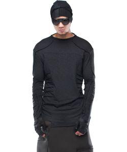 Demobaza | Dimension Viscose Wool Jersey Top