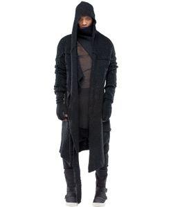 Demobaza | Uni Wisdom Wool Boucle Knit Cardigan