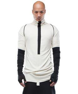 Demobaza | Light Dimension Viscose Wool Jersey Top