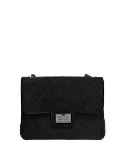 Designinverso | Milano Quilted Flocked Pvc Shoulder Bag