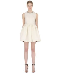 Dice Kayek | Cloqué Dress With Embellished Collar