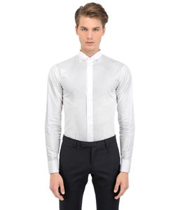 Dior Homme | Mandarin Collar Cotton Shirt