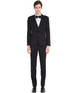 Dolce & Gabbana | Light Virgin Wool Gabardine 3 Piece Suit
