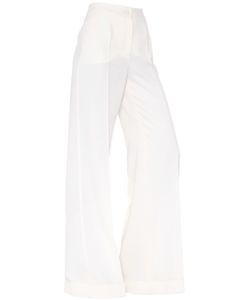 Dolce & Gabbana | Wide Leg Wool Pants