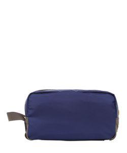 Dolce & Gabbana | Nylon Dauphine Leather Toiletry Bag