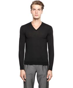 Drumohr | Extra Fine Merino Wool V Neck Sweater
